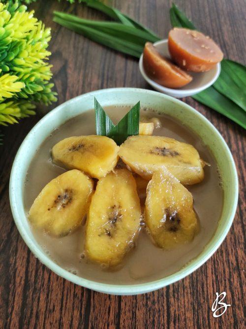 kolak pisang manis