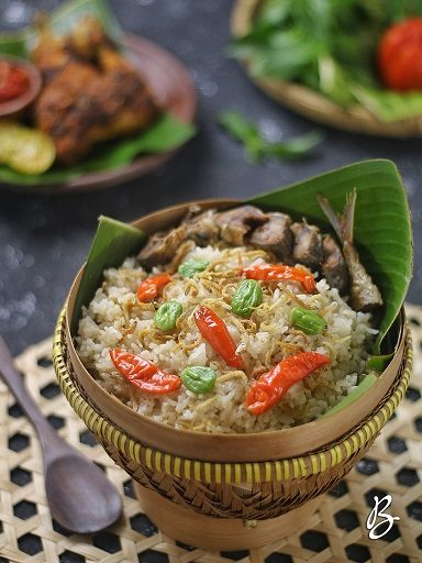 nasi liwet sunda sederhana