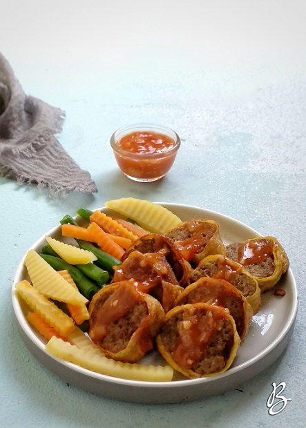 rolade daging sapi simple