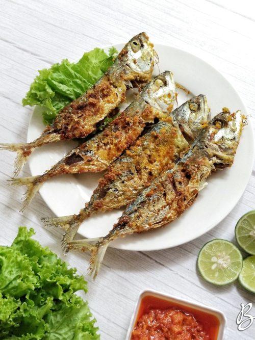 ikan kembung goreng bumbu gurih