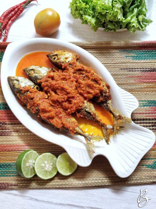 ikan kembung balado sederhana