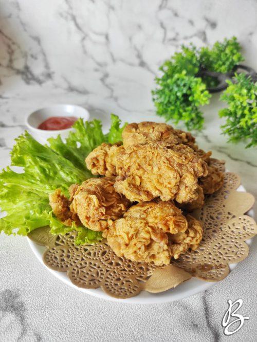 Ayam karaage kriuk juicy