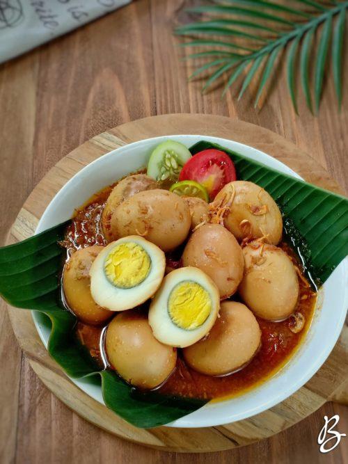 semur telur sederhana
