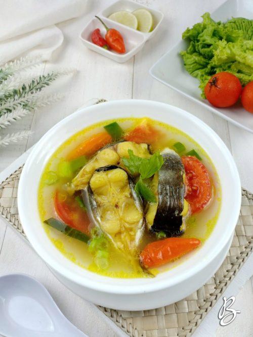 sup ikan patin sederhana