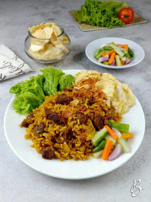 nasi goreng kambing special