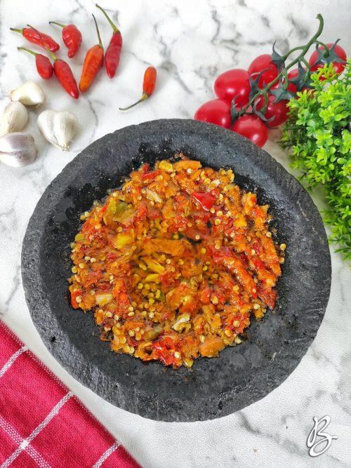sambal bawang putih mantap