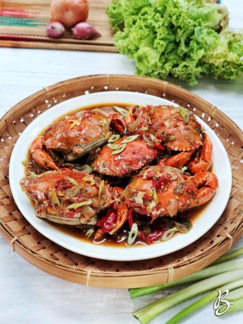 kepiting saus tiram mudah