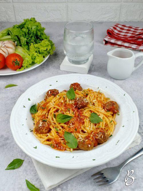 spaghetti bolognese meatballs mama mia