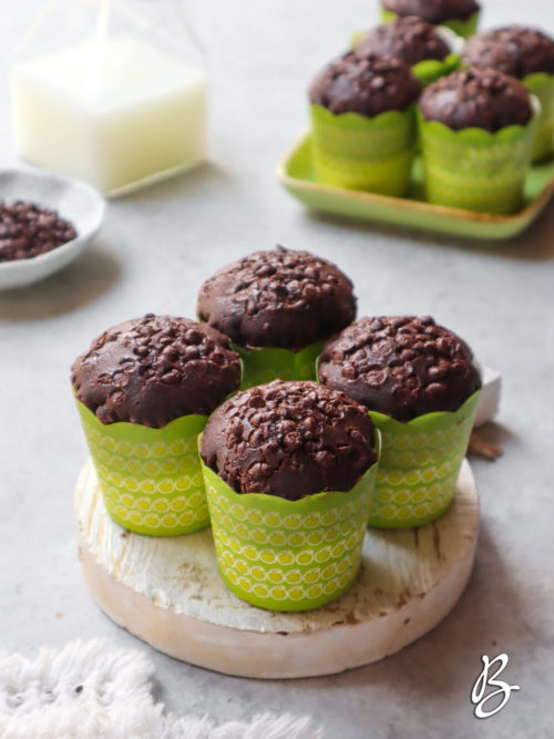 kue muffin coklat mudah
